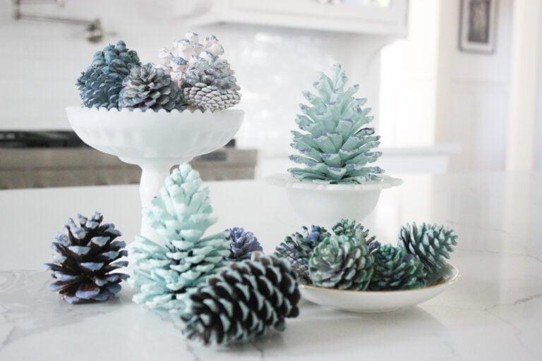 5 Best Ways To Paint Pinecones