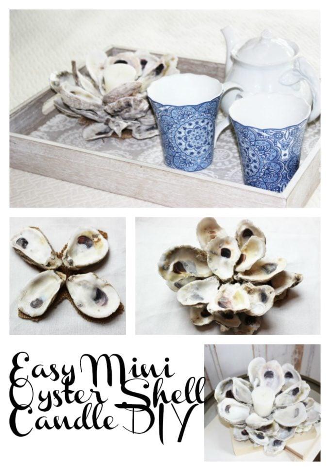 easy oyster shell diy