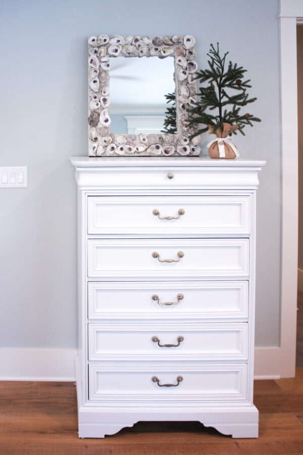 How To Paint Over Bright Colored Furniture Dresser Makeover