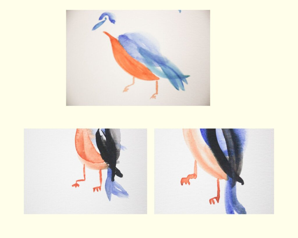 Steps to painting a bird: How To Paint A Bird With Watercolor in 7 Easy Steps