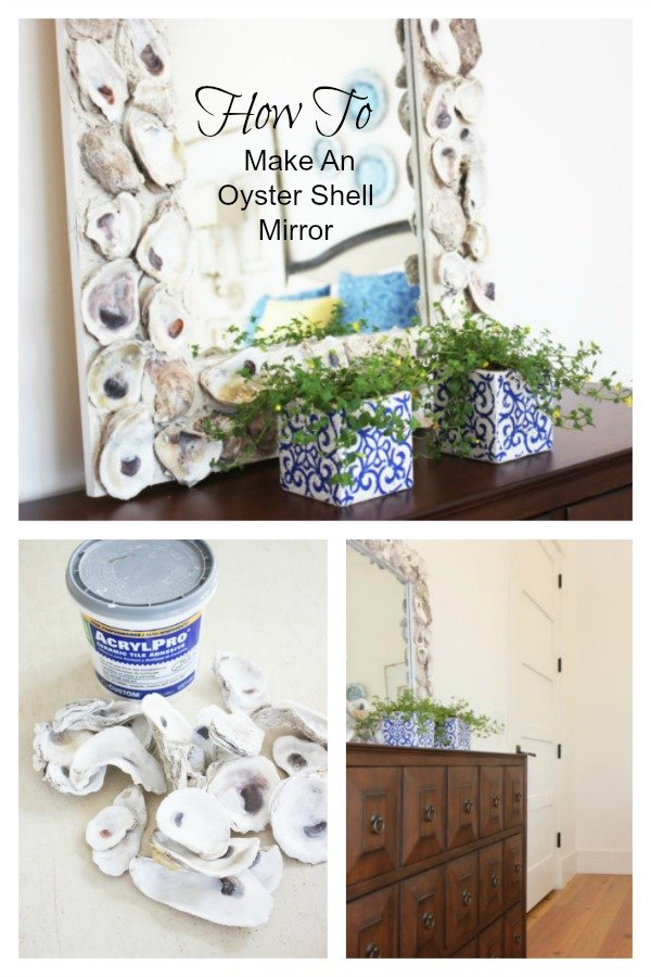 How To Make a Oyster Shell Mirror