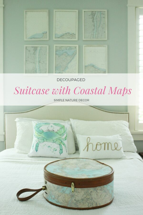 How To Decoupage A Suitcase