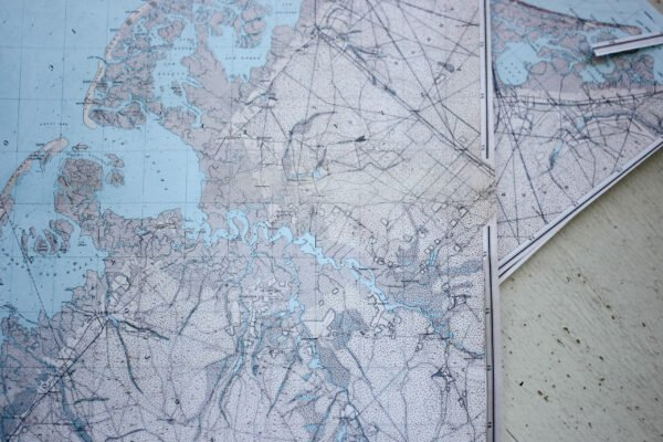 Printables maps for How To Decoupage A Suitcase with Maps