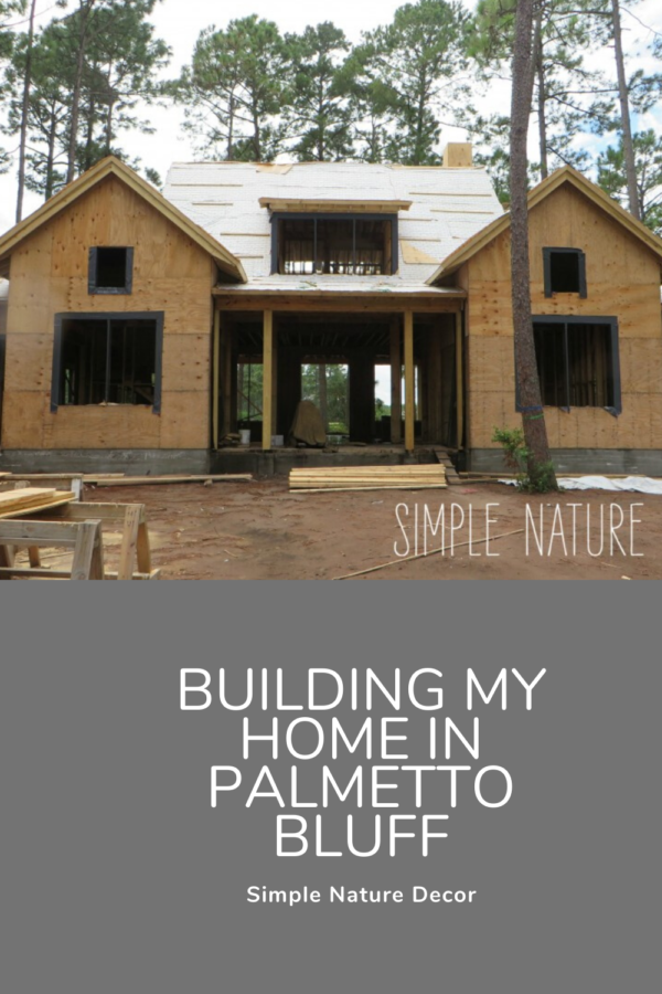 Plans of Building My Dream Home In The Community Of Palmetto Bluff