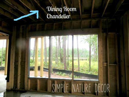 chandelier indining room