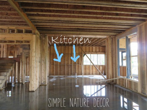 Kitchen framing