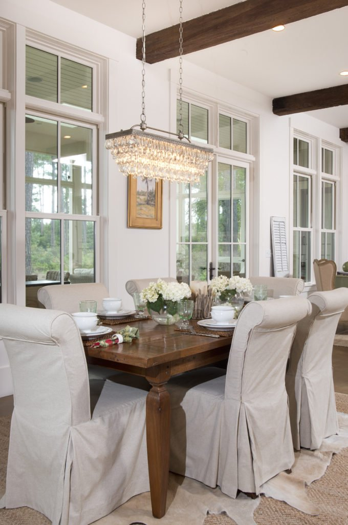 dining room of Building My Dream Home In The Community Of Palmetto Bluff
