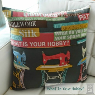 pillow on fabulous feature