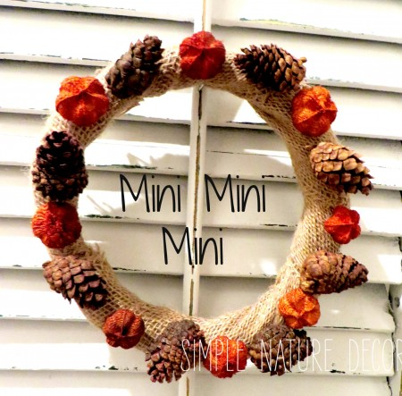 mini mini wreath