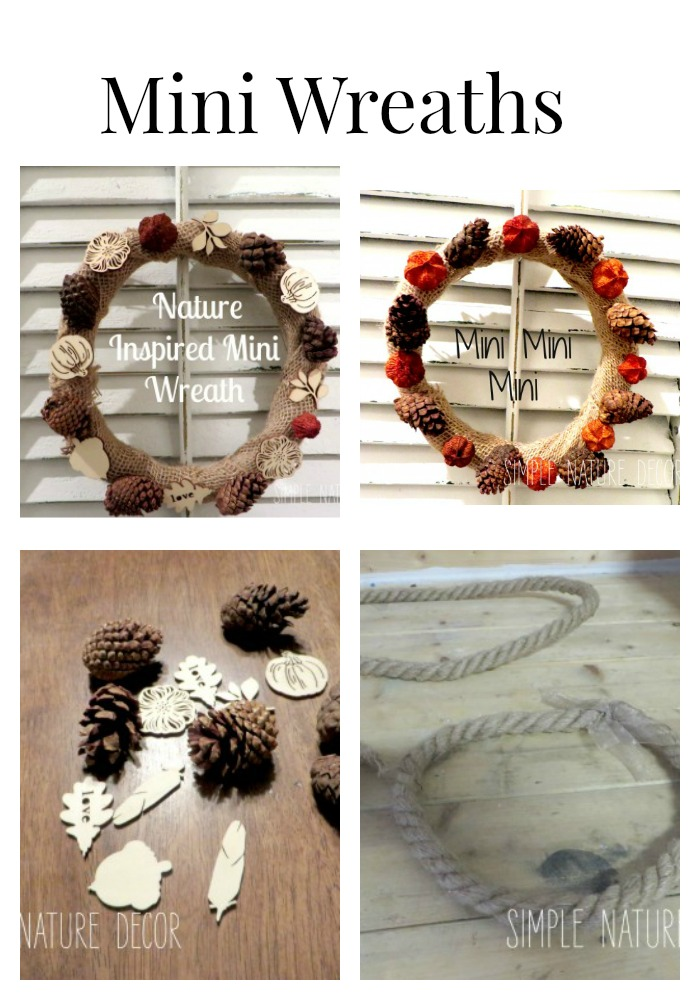 Nature Inspired MINI WREATHS