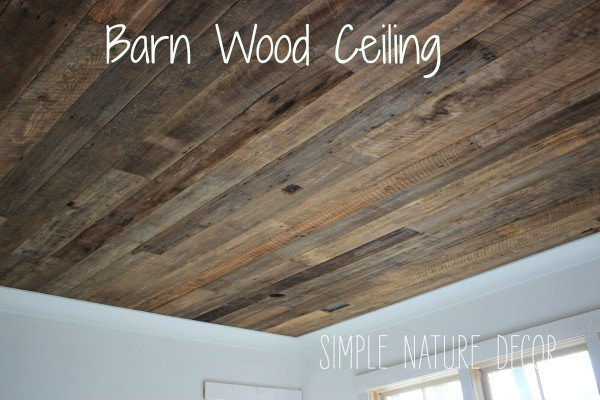 NATURE HOUSE BARN WOOD CEILING