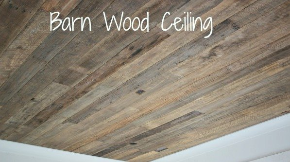 nature house barn wood ceiling - Reclaimed Wood Ceiling