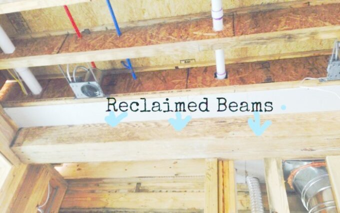 reclaimed beams Reclaimed Wood Ideas That Will Add Charm To Your Home