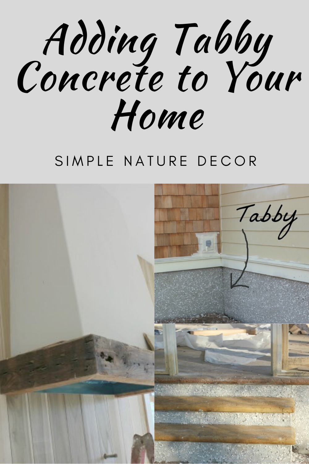 How to add tabby concrete to your home