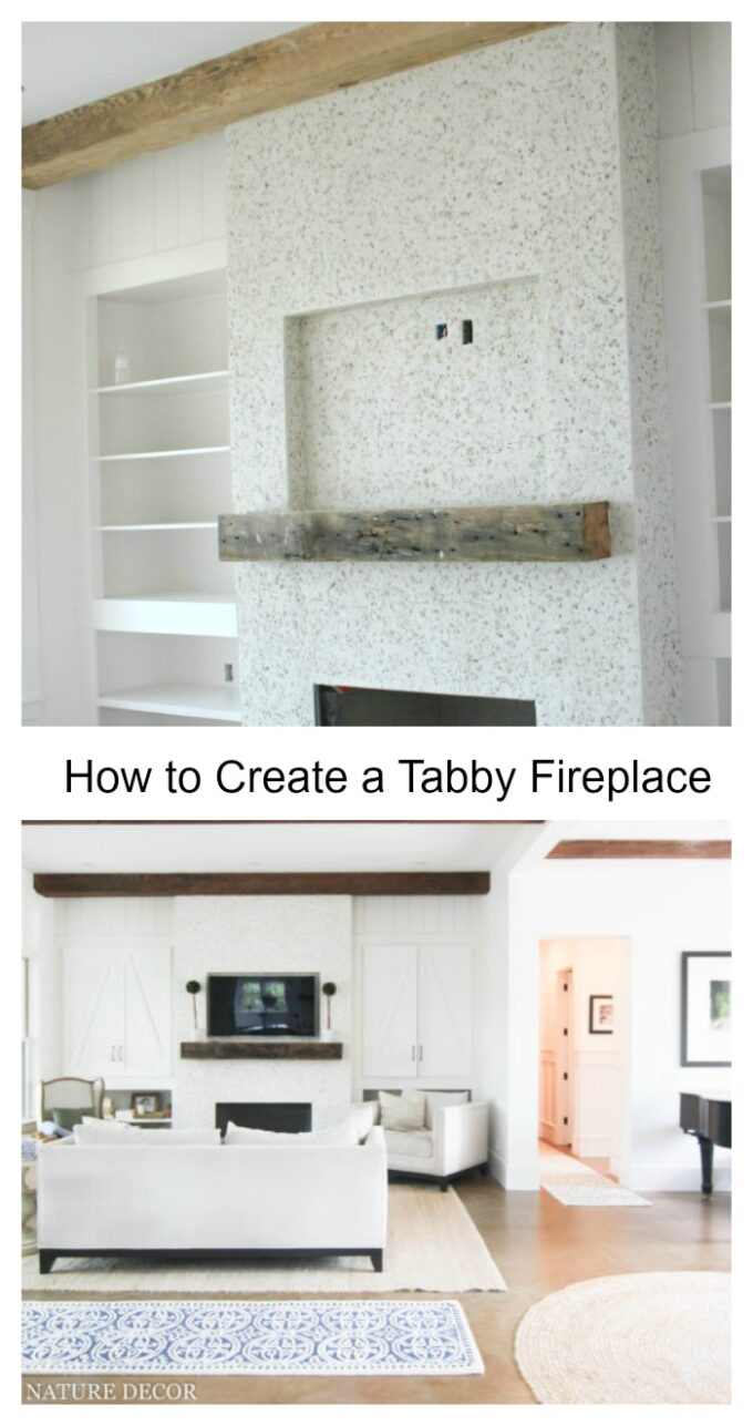 how to add tabby concrete to your home for a coastal charm
