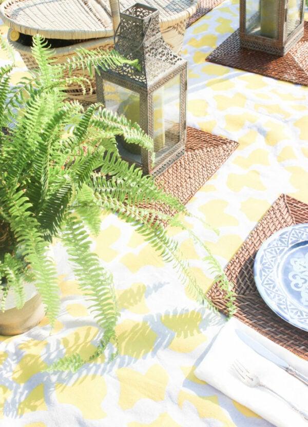 Supplies for cute picnic ideas
