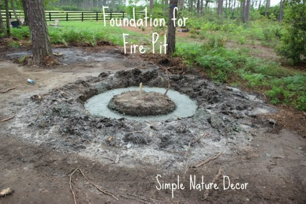 nature house fire pit
