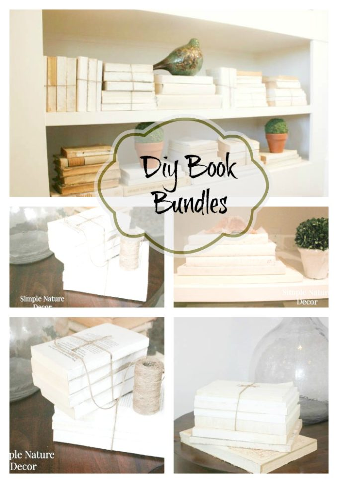 Create Antique DIY book bundles