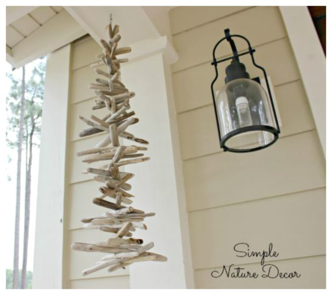drift wood chime diy