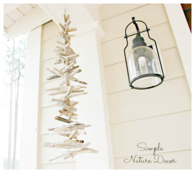 How To Make a Driftwood Wind Chime