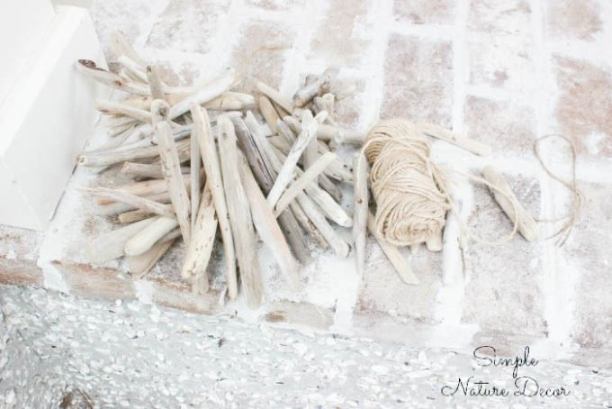 Supplies for:How To Make a Driftwood Wind Chime
