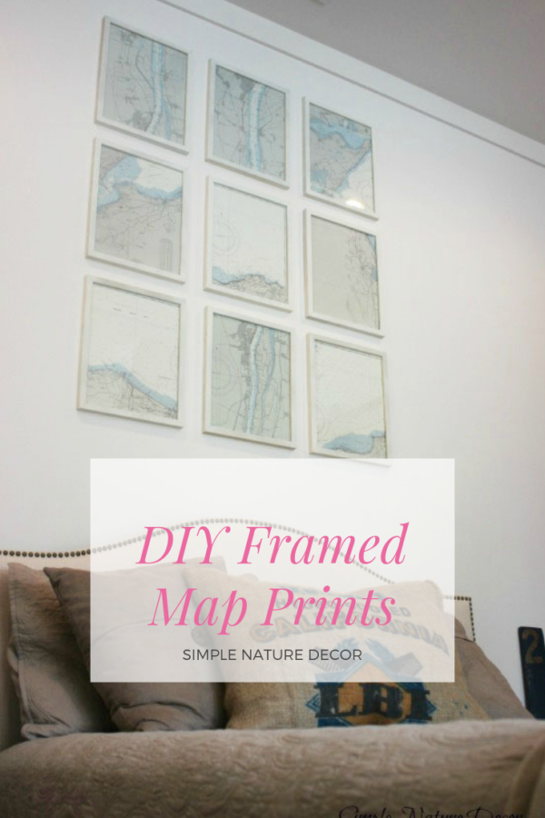How To Mount and Frame Your Maps In 6 Easy Steps