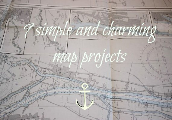 9 simple and charming map projects
