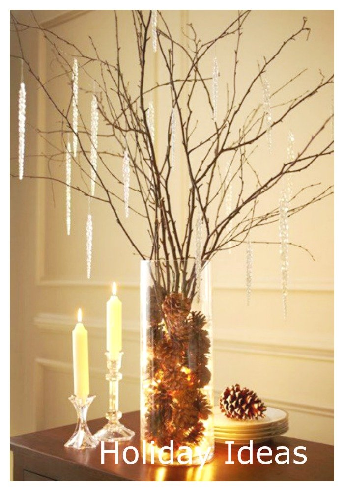 nature inspired lighting. I Spent The Entire Weekend With My Daughter Looking Around For Flowers And Holiday Decor Ideas Nature Our Inspired Party\u2026. Plus Lighting