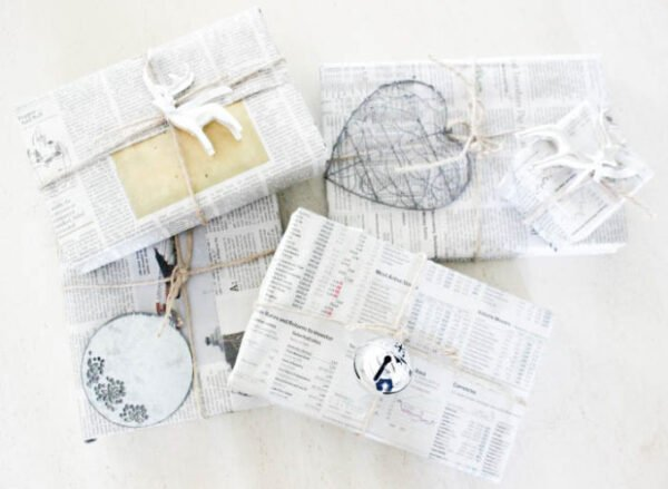 Recyclable Holiday Wrapping Paper Ideas Without Spending A Dime