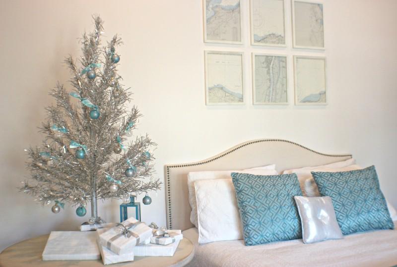 vintage silver tree