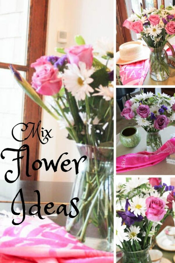 Mix flower ideas for the new year