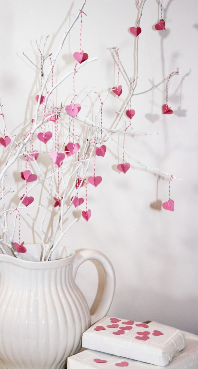 valentine branch diy