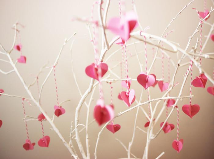 valentine branch diy