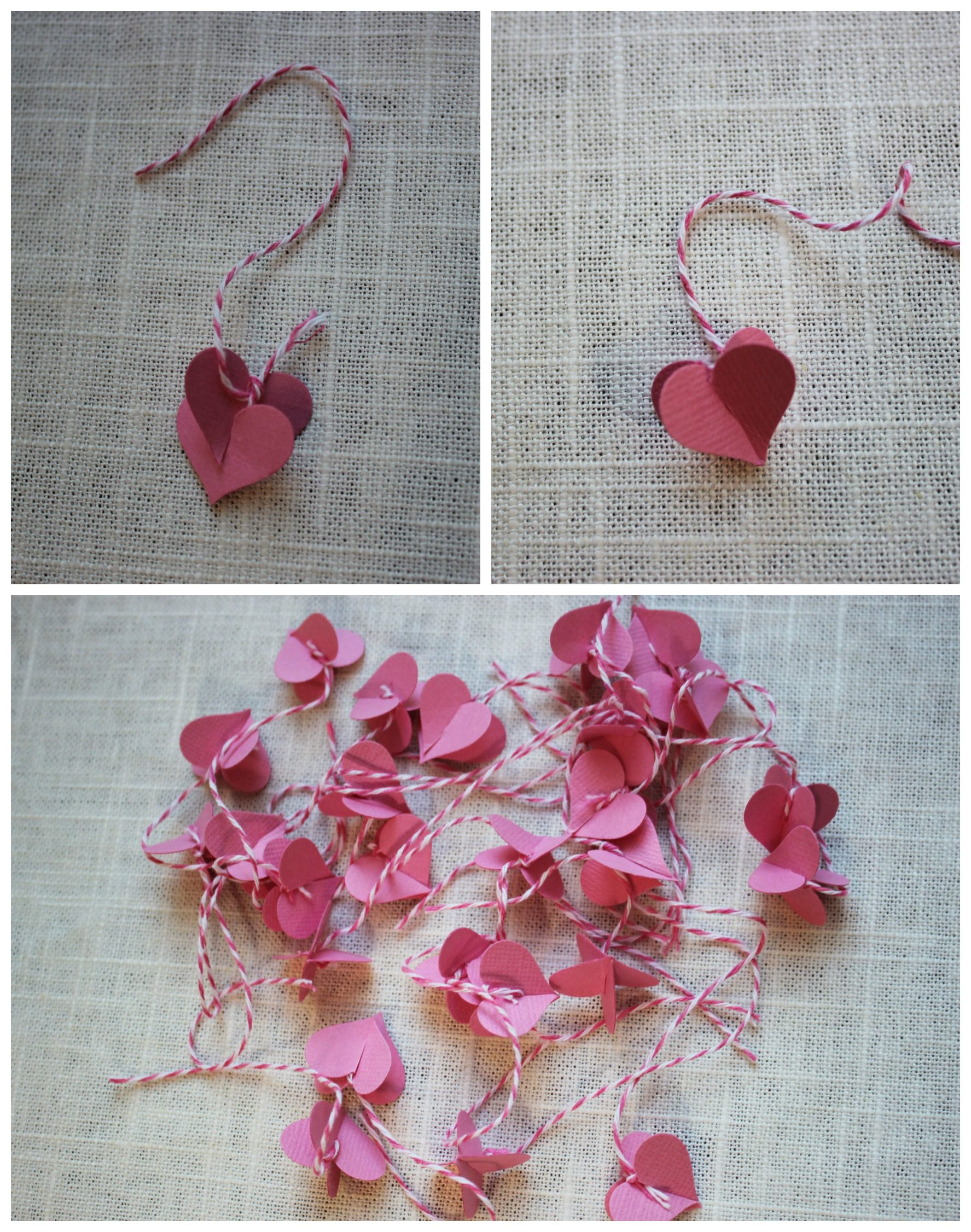 how to create paper valentine hearts