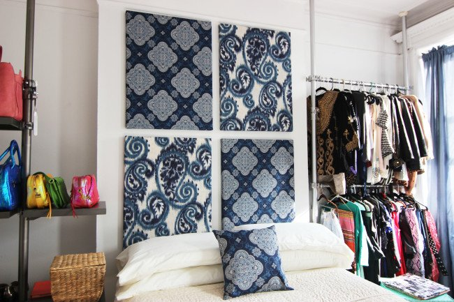 nyc bedroom makeover:moroccan accents