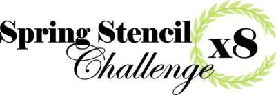 spring stencil challenge
