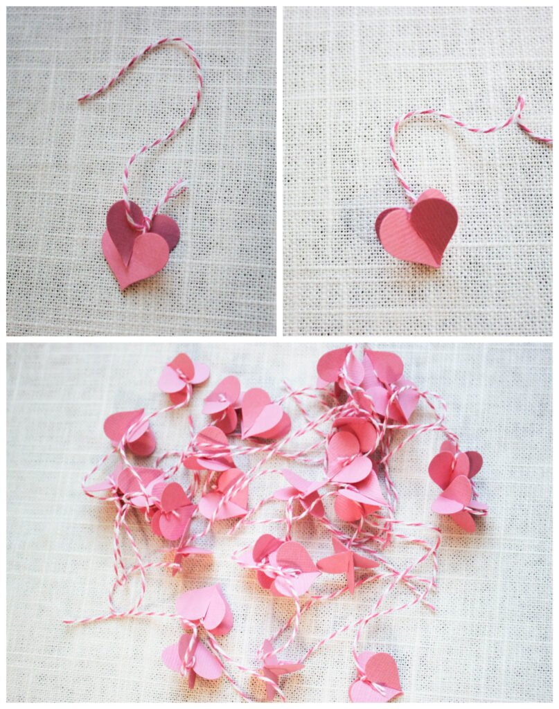 How To Make Valentine Tree With Heart Shaped Leaves