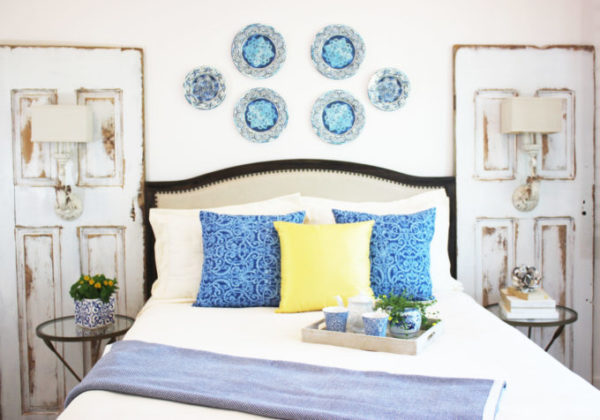 Create a Mediterranean Wall With Decorative Plates.