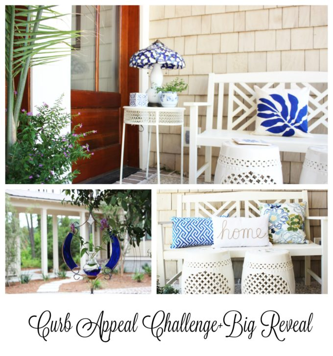curb appeal big reveal for pinterest