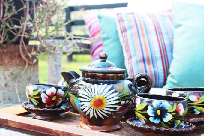 How To Create An Eclectic Outdoor Summer Space