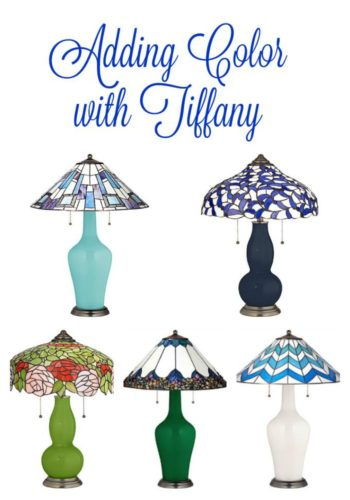 tiffany lamps post