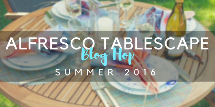 alfresco table blog hop