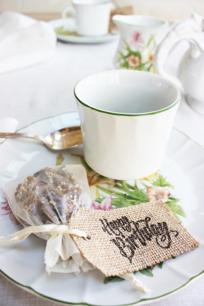 ECO FRIENDLY BIRDSEED PARTY FAVORS: How To Make Heart-Shaped Eco-Friendly Birdseed Party Favors