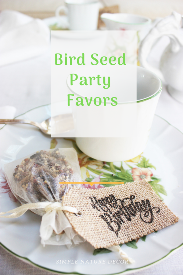How To Make Heart-Shaped Eco-Friendly Birdseed Party Favors