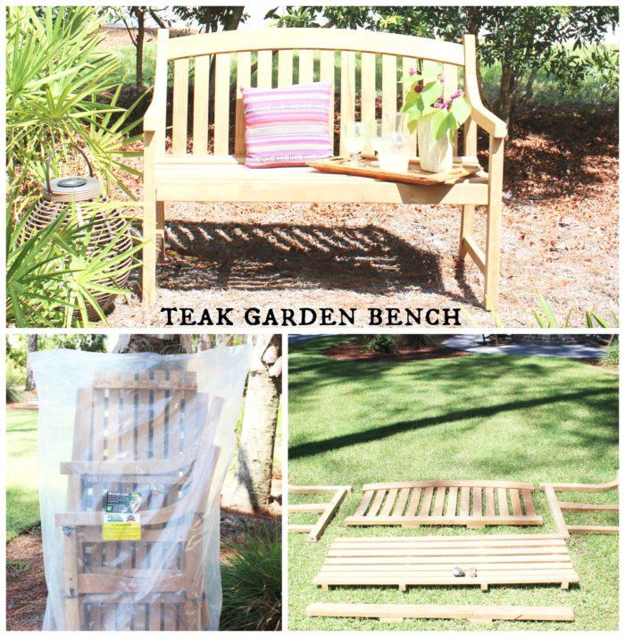 teak garden bench 2