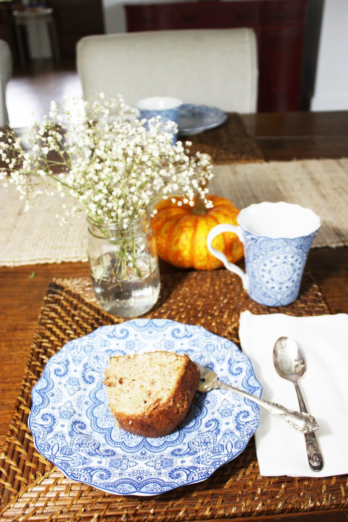 simple pumpkin on table: 6 Stylish Ways To Decorate Your Home With Pumpkins For The Fall