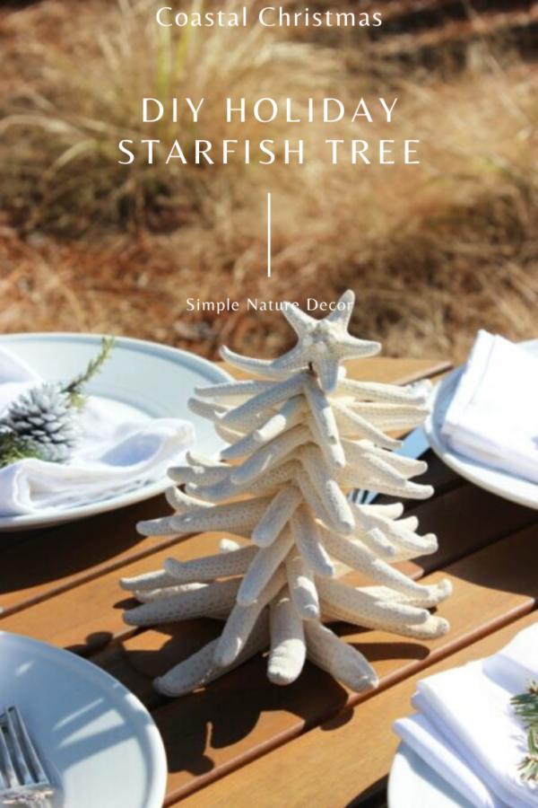Starfish Christmas:How to Make A Starfish Christmas Tree