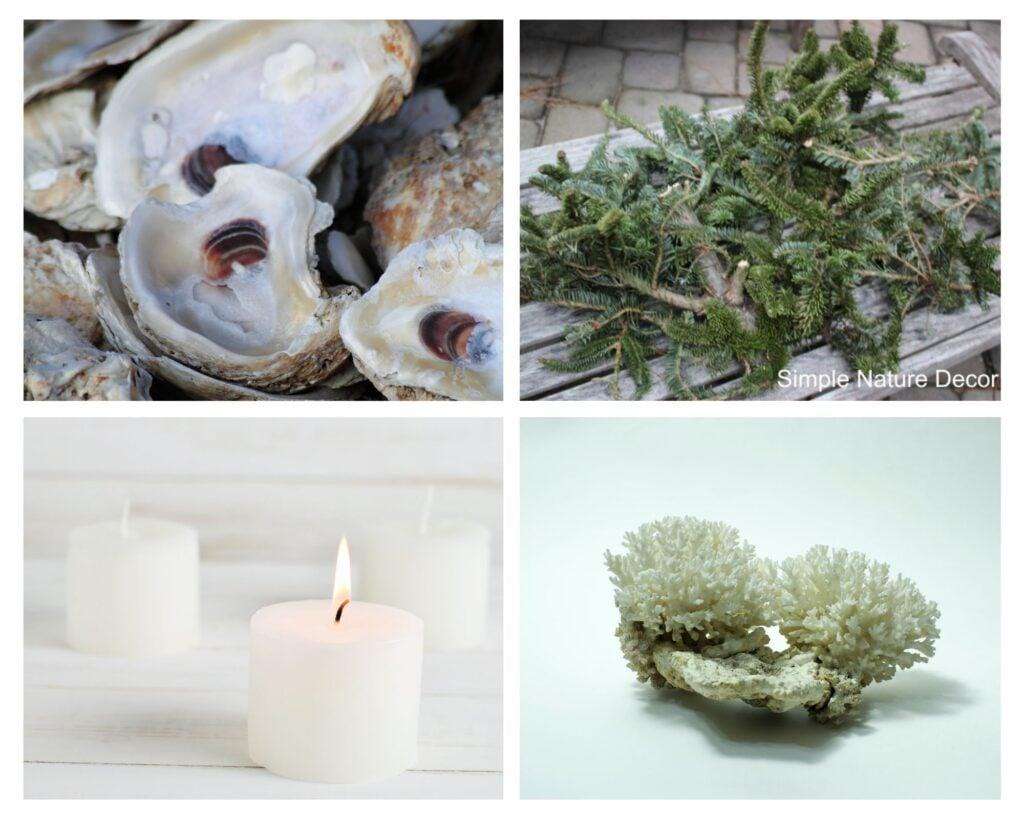Supplie:How To Make A Oyster Shell Garland Centerpiece