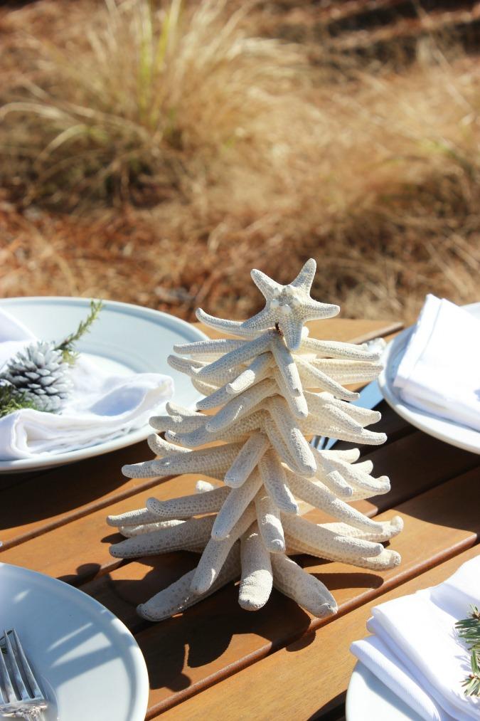 How to Make A Starfish Christmas Tree