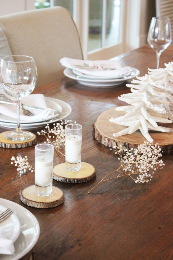 NEW YEARS EVE RUSTIC TABLESCAPE